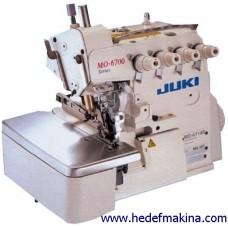 JUKI MO-6704S-OE4-40H JUKI 3 İPLİK OVERLOK MAKİNASI