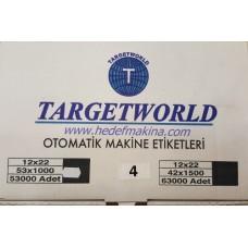 TARGET WORLD METO ETİKETLER